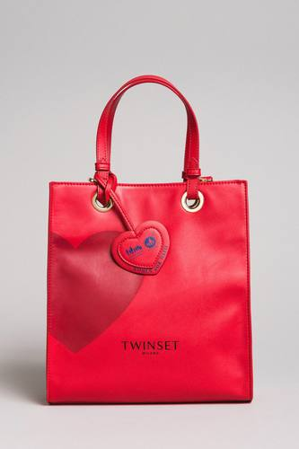 Borsa in pelle, limited edition (rossa)