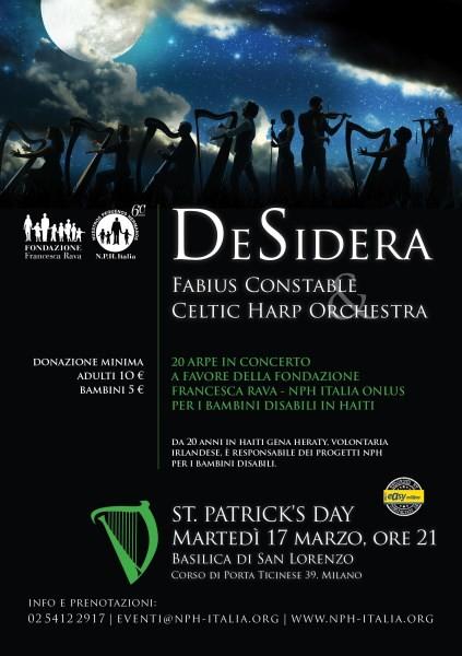 17 marzo desidera fabius constable celtic harp - San patrizio per i bambini ...